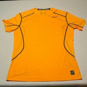 Nike Pro Combat  Large Short Sleeve Shirt fitted